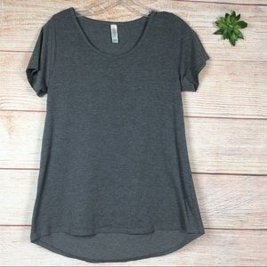 Lularoe classic t-shirt gray color size xs